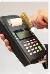 Онлайн кассовый аппарат + банковский POS терминал