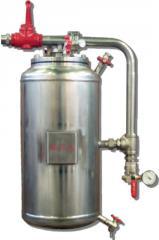Миниатюрная вертикальная система смешивания с пенным концентратом внутри мембраны MINI bladder tanks