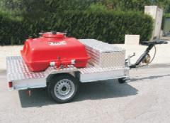 Передвижной блок для пены с резервуаром (500 литров)