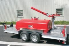 Передвижной блок для пены с резервуаром (2000 литров)