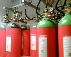 Инертные газы Азот (IG100) Аргон (IG01) IG541