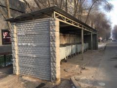 Ограждения для мусорных контейнеров ТБО