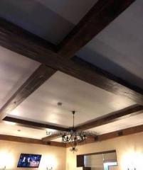 Фальшбалки для потолка и стен