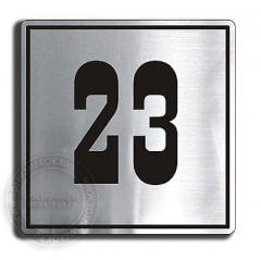 Numbering is door