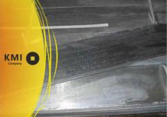 Анод цинковый 6х500х1000 Ц0 ГОСТ 1180-91
