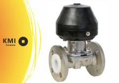 Клапан мембранный с пневмоприводом DN 15 AISI 316L