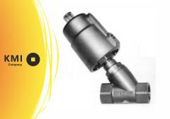 Клапан седельный с пневмоприводом н/з 4730C AISI