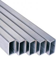 Pipes electrowelded rectangular section