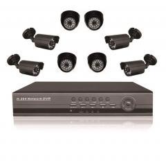 Готовый комлект системы видеонаблюдения на 8
