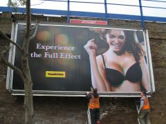 Billboards, billboards, Astana, Production