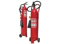 Fire extinguisher carbon dioxide OU-10