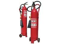 Fire extinguisher carbon dioxide OU-10