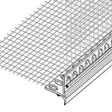 Profil-kapelnik PVC with the reinforcing grid of