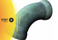 Отвод чугунный раструбный а=10°,15°,30°,45° ОР 100