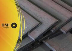 Полоса из конструкционной стали 40x60 мм ст. 20