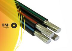 Провод самонесущий изолированный 3х16+1х25 СИП-2