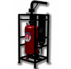 Gas extinguishing installations ARTSOK, ATTACK,