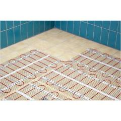 Electric heat-insulated floors, Device of