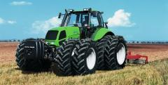 Tires for agricultural machinery, Dual wheels of
