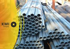 Труба водогазопроводная ВГП стальная 100х4,5 мм