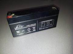 Rechargeable battery 6V3, 2AH
