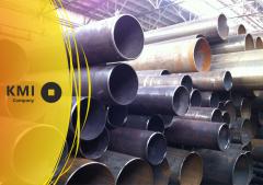 Tool steel pipes