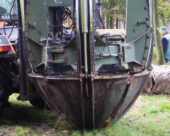 The equipment hinged for agricultural machinery,