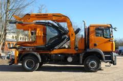 Машина для пересадки деревьев Оптимал 2000 на базе