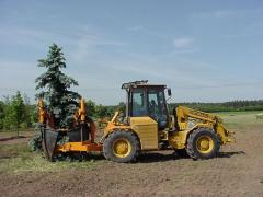 Hole diggers, stump pullers, loaders, Optimal 1700