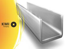 Швеллер алюминиевый 100х50х5 мм АМг5 ,1550 ГОСТ Р