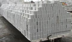 Brick the silicate Pavlodar which is not packed,