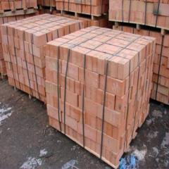 Brick silicate red M 150/25 Kazakhstan which is