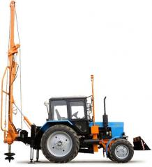 Car boring and crane BM-205D