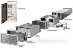 Монтаж, установка приточного вентиляционного