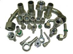 Fitting hydraulic for RVD and connecting fittings,