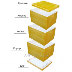 Set Beehives foam, 10 frame