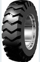 The tire on the wheel loader 17.5-25