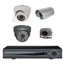 Video surveillance a set on 4 chambers