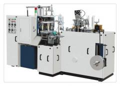 The machine for production of paper cups