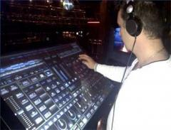 Interactive DJ panel