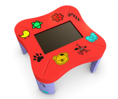 Child multi touch table