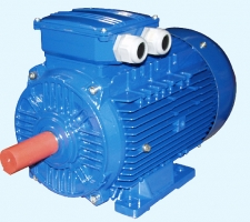 Common industrial electric motors in the aluminum