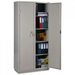 Металлический бухгалтерский шкаф КБ - 10 / КБС - 10.