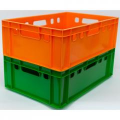 Ящик для мяса и колбасных изделий цветной
