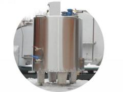 Pasteurizating cooling plant