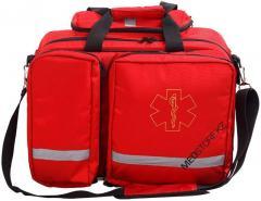 Большая сумка-укладка врача firstmed (Красная)