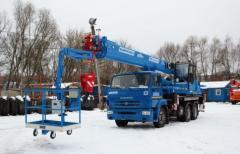 "Cranes lift ""Klintsy"" PKC-55713-1K-4B"