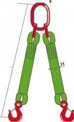 2 ST, Slings textile Dvukhvetveva