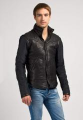 Clothes leather