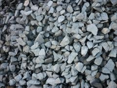 Crushed stone fractional